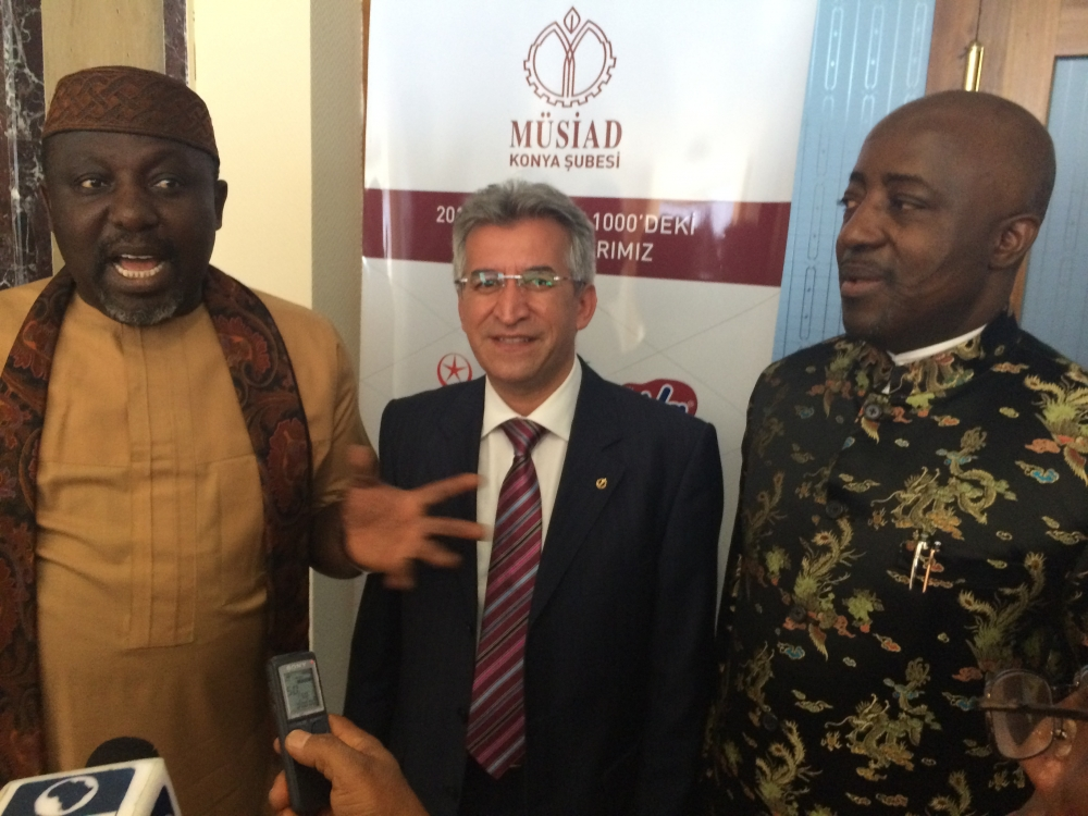 MÜSİAD Konya Nijerya heyetini ağırladı 7
