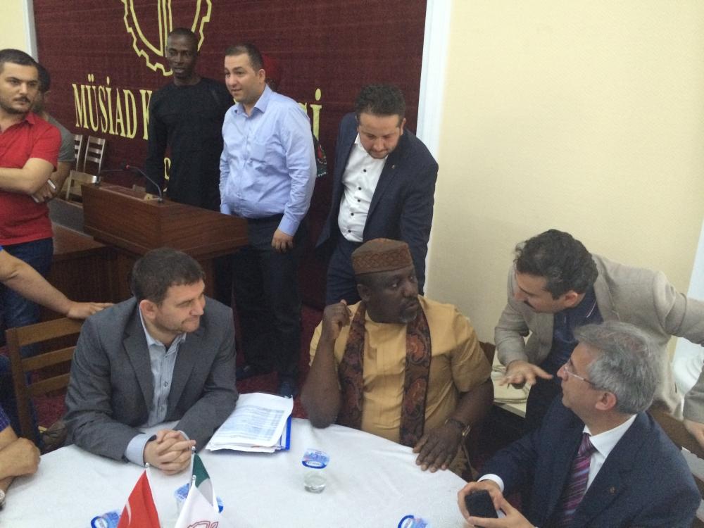 MÜSİAD Konya Nijerya heyetini ağırladı 9