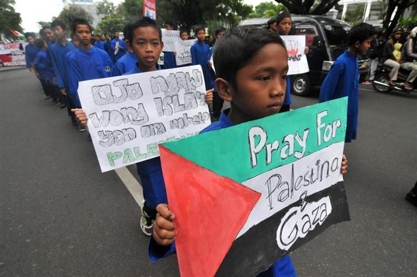 Dünya İsrail'i protesto ediyor 1