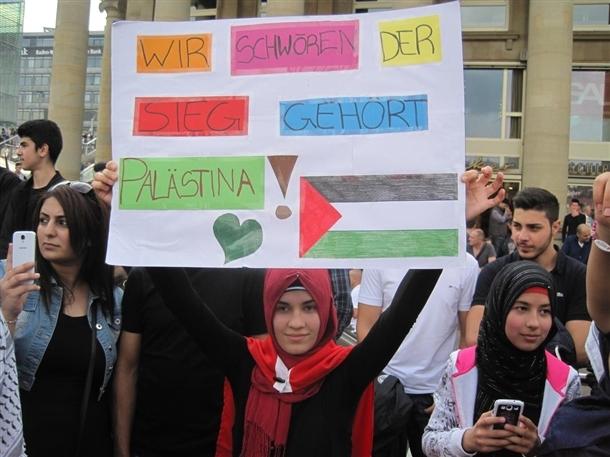 Dünya İsrail'i protesto ediyor 10