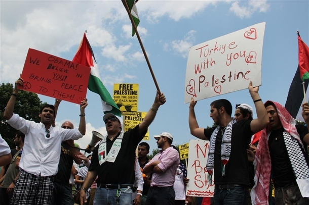 Dünya İsrail'i protesto ediyor 13