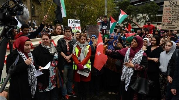 Dünya İsrail'i protesto ediyor 2
