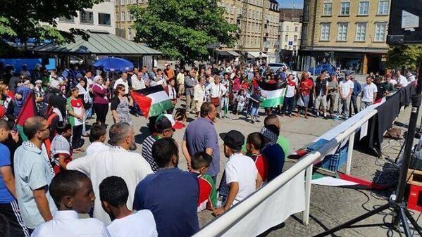 Dünya İsrail'i protesto ediyor 3