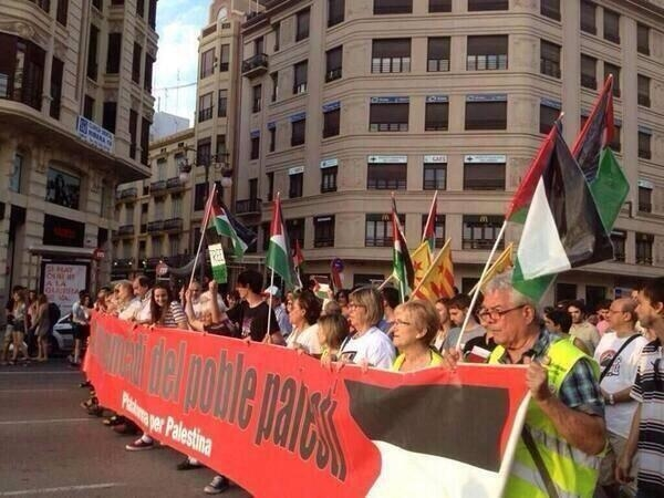 Dünya İsrail'i protesto ediyor 5