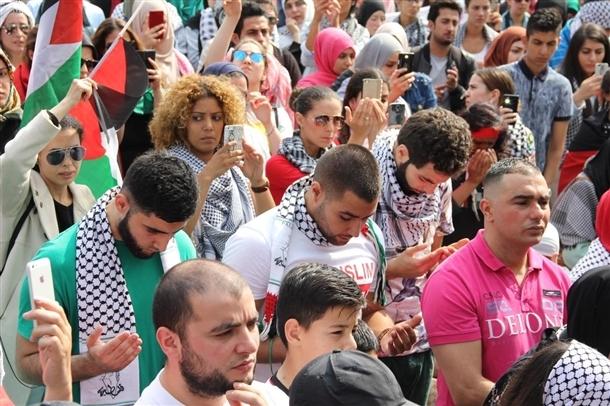 Dünya İsrail'i protesto ediyor 7