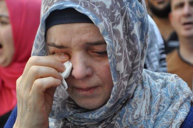 Yüzbinler Gazze için sokaklara döküldü 7