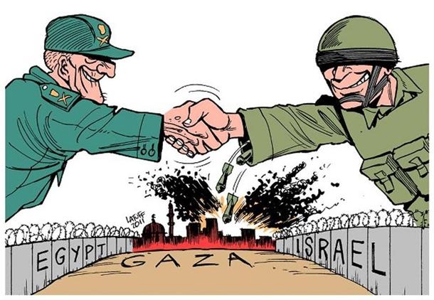 Arap çizerler Arap liderleri böyle rezil etti 2