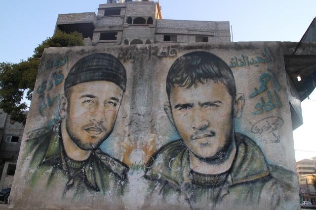 Gazze duvarları Filistin'i anlatıyor 11