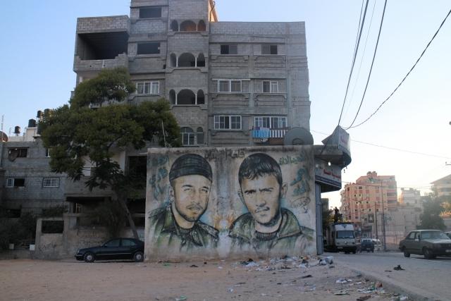 Gazze duvarları Filistin'i anlatıyor 2