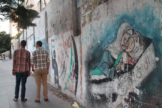 Gazze duvarları Filistin'i anlatıyor 4
