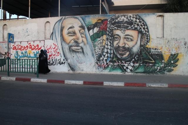 Gazze duvarları Filistin'i anlatıyor 5