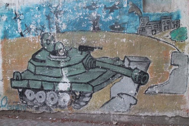Gazze duvarları Filistin'i anlatıyor 7