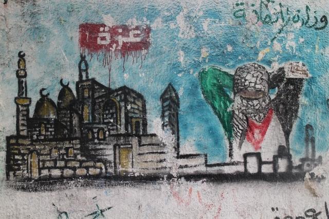 Gazze duvarları Filistin'i anlatıyor 8