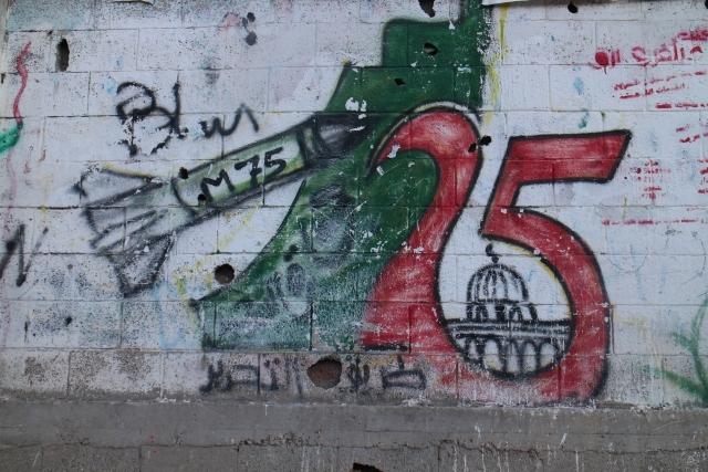 Gazze duvarları Filistin'i anlatıyor 9