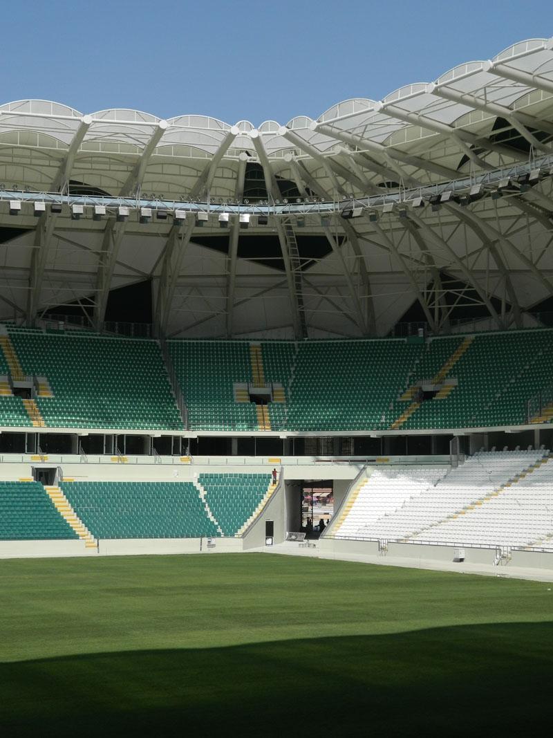 Torku Konyaspor'un yeni stadyumu basına tanıtıldı 12