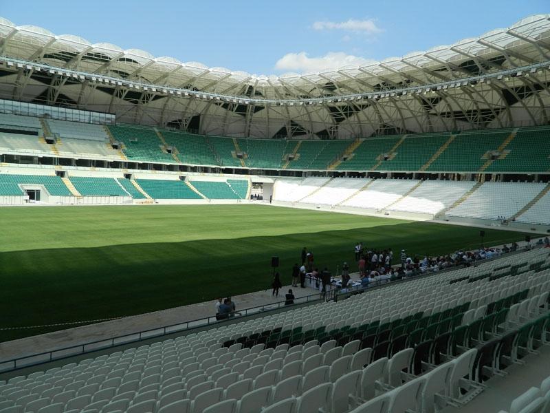 Torku Konyaspor'un yeni stadyumu basına tanıtıldı 16