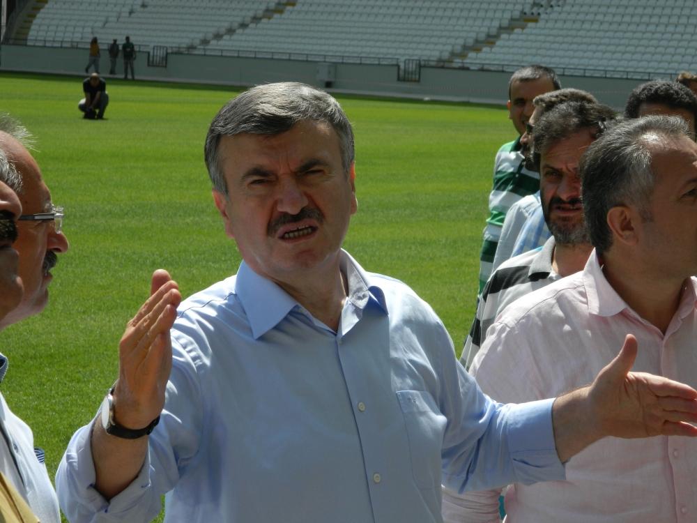 Torku Konyaspor'un yeni stadyumu basına tanıtıldı 20