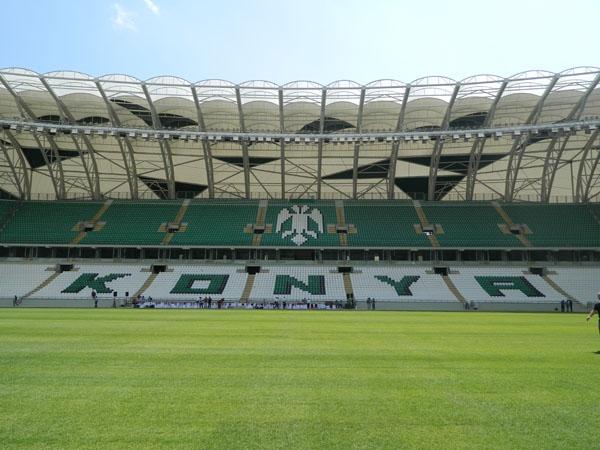 Torku Konyaspor'un yeni stadyumu basına tanıtıldı 21