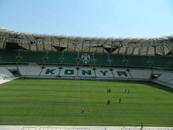 Torku Konyaspor'un yeni stadyumu basına tanıtıldı 22