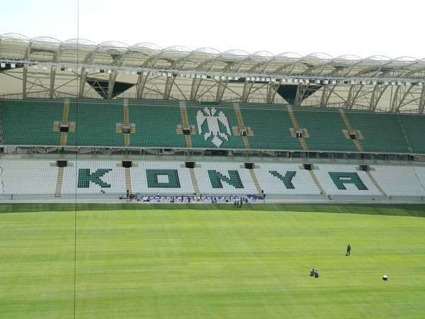 Torku Konyaspor'un yeni stadyumu basına tanıtıldı 28