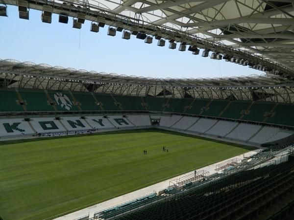Torku Konyaspor'un yeni stadyumu basına tanıtıldı 31