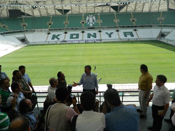 Torku Konyaspor'un yeni stadyumu basına tanıtıldı 32