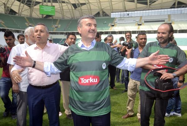 Torku Konyaspor'un yeni stadyumu basına tanıtıldı 42