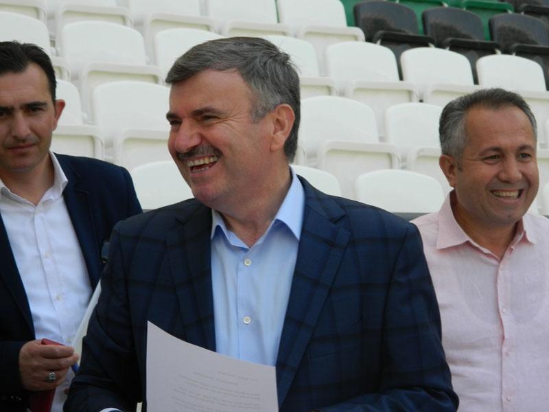 Torku Konyaspor'un yeni stadyumu basına tanıtıldı 7