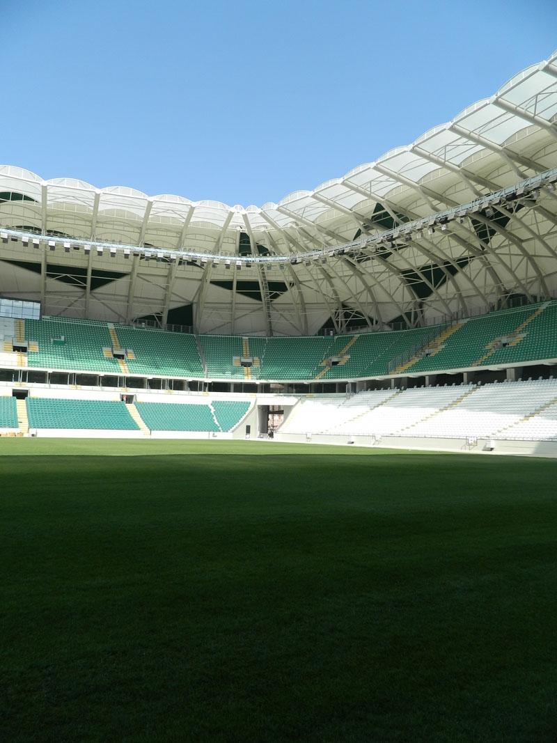 Torku Konyaspor'un yeni stadyumu basına tanıtıldı 8