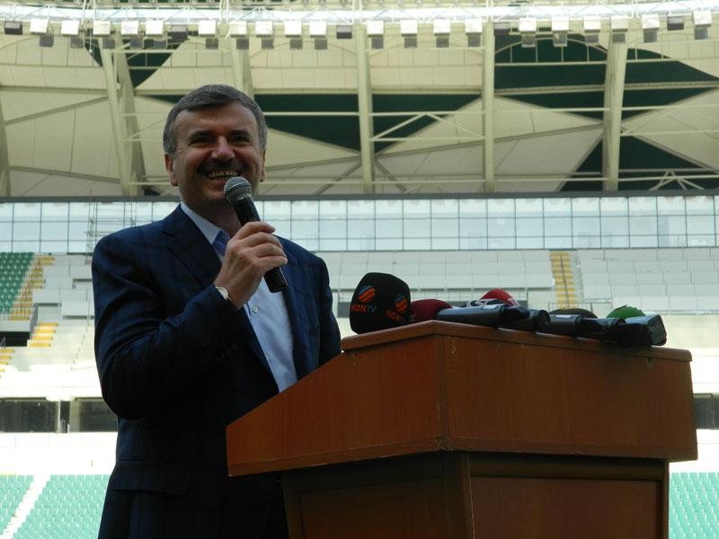 Torku Konyaspor'un yeni stadyumu basına tanıtıldı 9