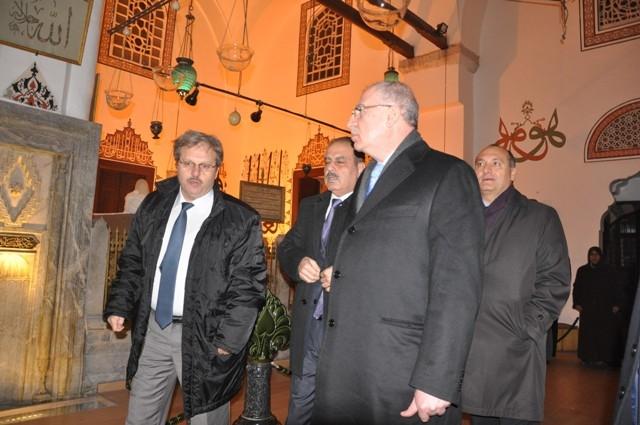 Yabancı devlet adamları Mevlana Müzesi'nde 7