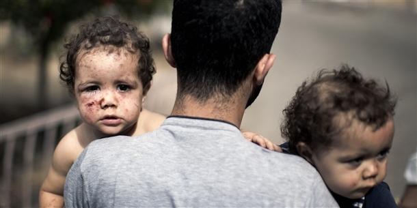 Google'da bir tane mutlu Gazzeli çocuk yok! 1