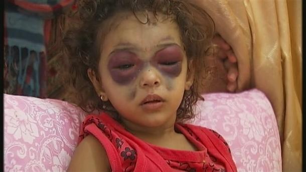 Google'da bir tane mutlu Gazzeli çocuk yok! 10