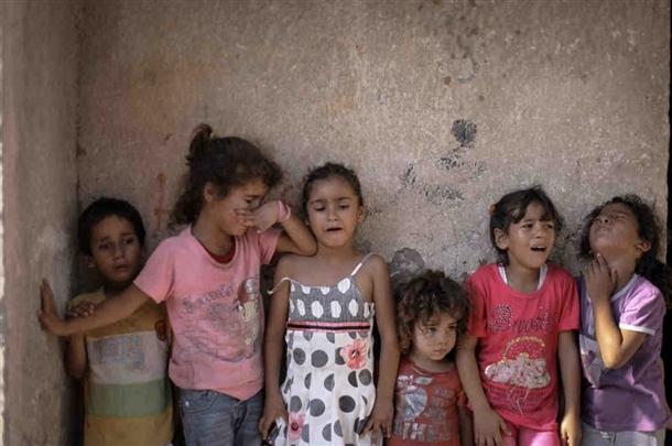Google'da bir tane mutlu Gazzeli çocuk yok! 11
