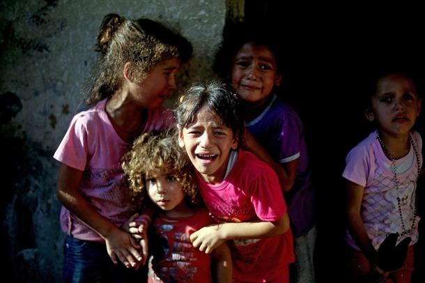 Google'da bir tane mutlu Gazzeli çocuk yok! 13