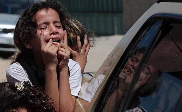 Google'da bir tane mutlu Gazzeli çocuk yok! 14