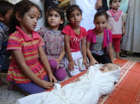 Google'da bir tane mutlu Gazzeli çocuk yok! 15