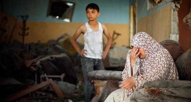 Google'da bir tane mutlu Gazzeli çocuk yok! 17