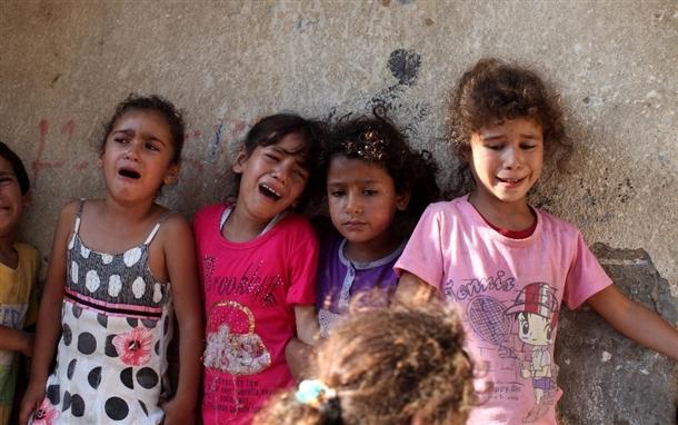 Google'da bir tane mutlu Gazzeli çocuk yok! 2