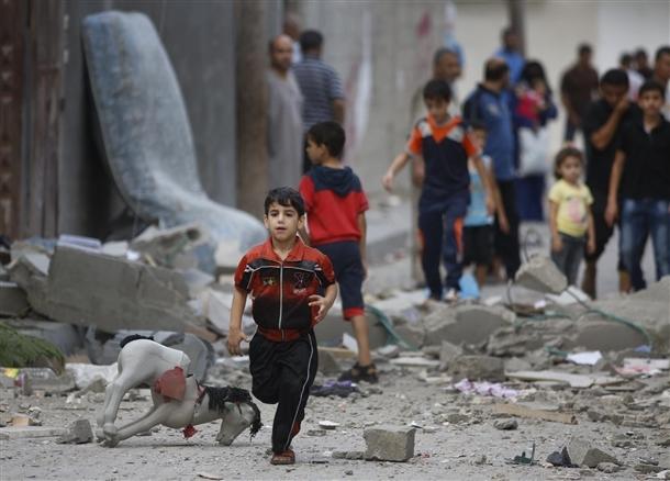 Google'da bir tane mutlu Gazzeli çocuk yok! 3