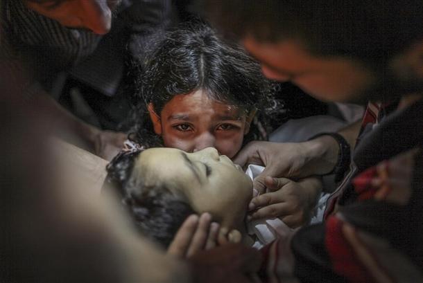 Google'da bir tane mutlu Gazzeli çocuk yok! 4