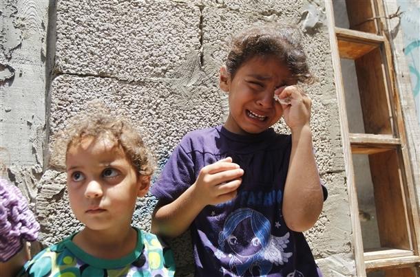 Google'da bir tane mutlu Gazzeli çocuk yok! 6