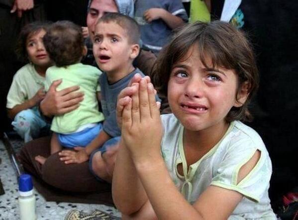 Google'da bir tane mutlu Gazzeli çocuk yok! 7
