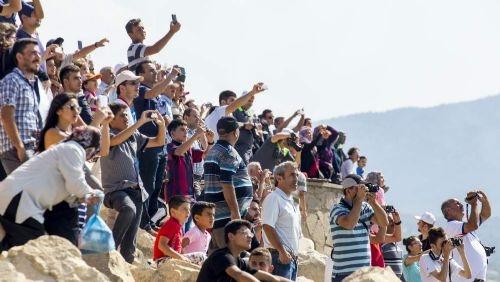 Türk Yıldızları'nın 'Mevlana' gösterisi nefes kesti 7