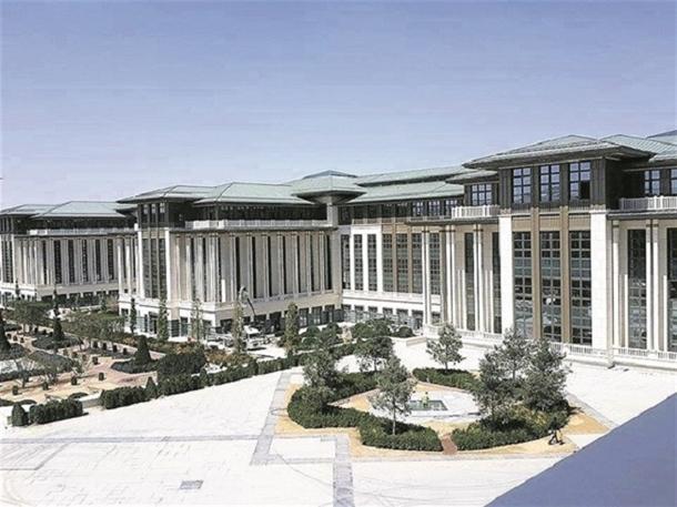 İskele kaldırıldı 'Başkanlık Sarayı' ortaya çıktı 1
