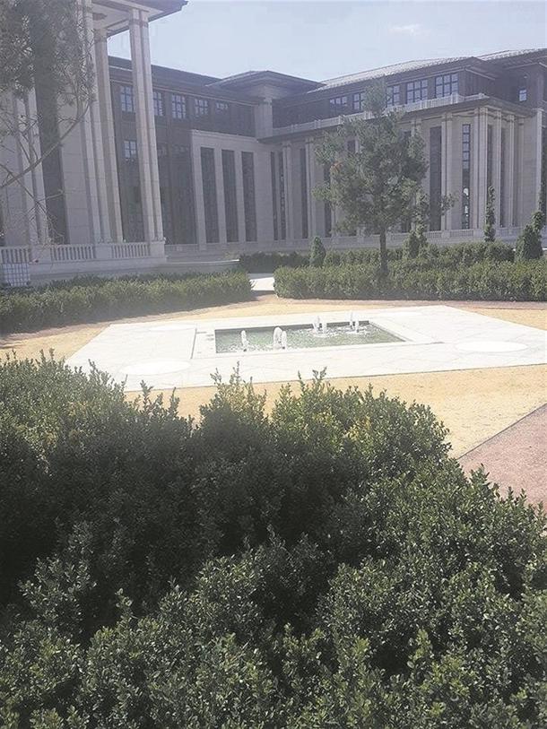 İskele kaldırıldı 'Başkanlık Sarayı' ortaya çıktı 10