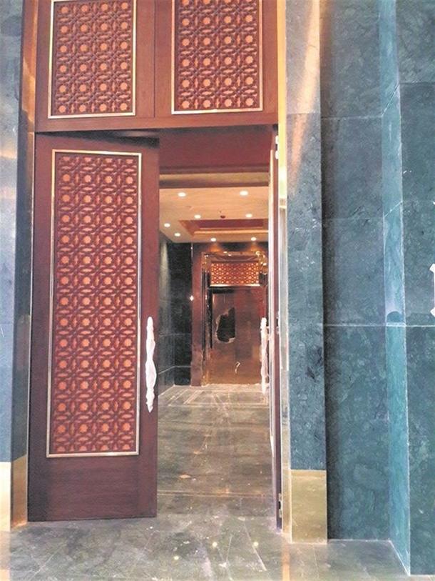 İskele kaldırıldı 'Başkanlık Sarayı' ortaya çıktı 11
