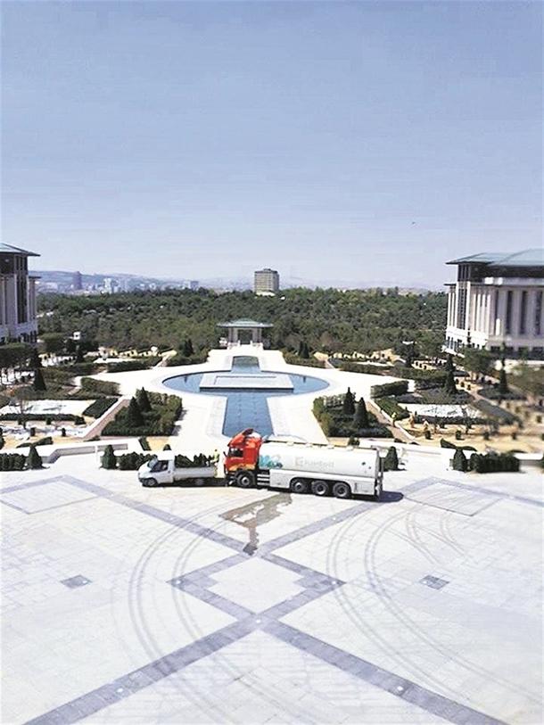 İskele kaldırıldı 'Başkanlık Sarayı' ortaya çıktı 15