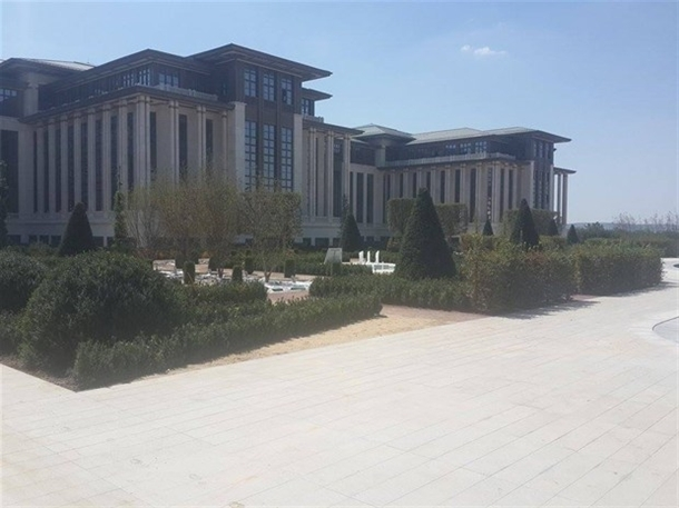 İskele kaldırıldı 'Başkanlık Sarayı' ortaya çıktı 17
