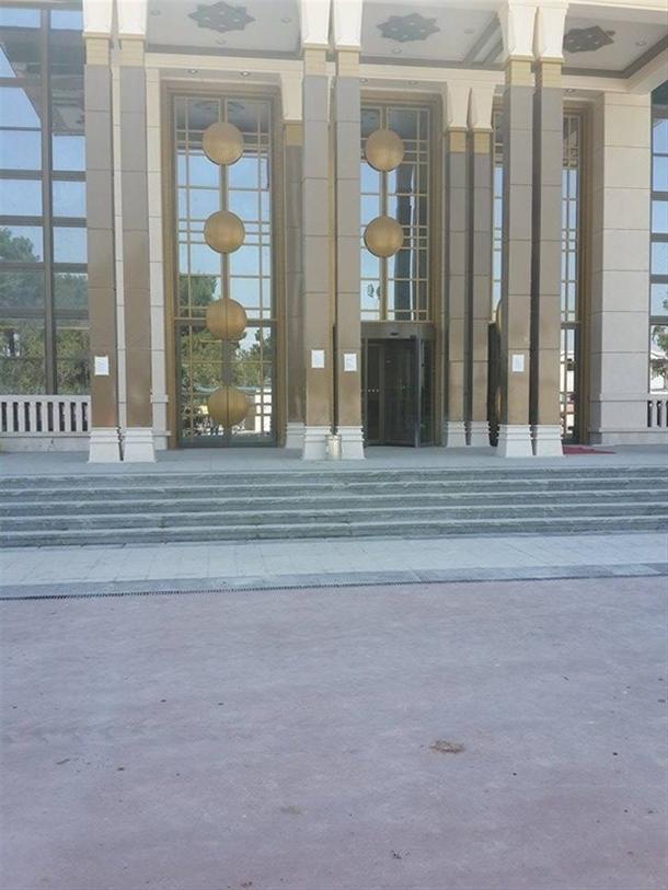 İskele kaldırıldı 'Başkanlık Sarayı' ortaya çıktı 18